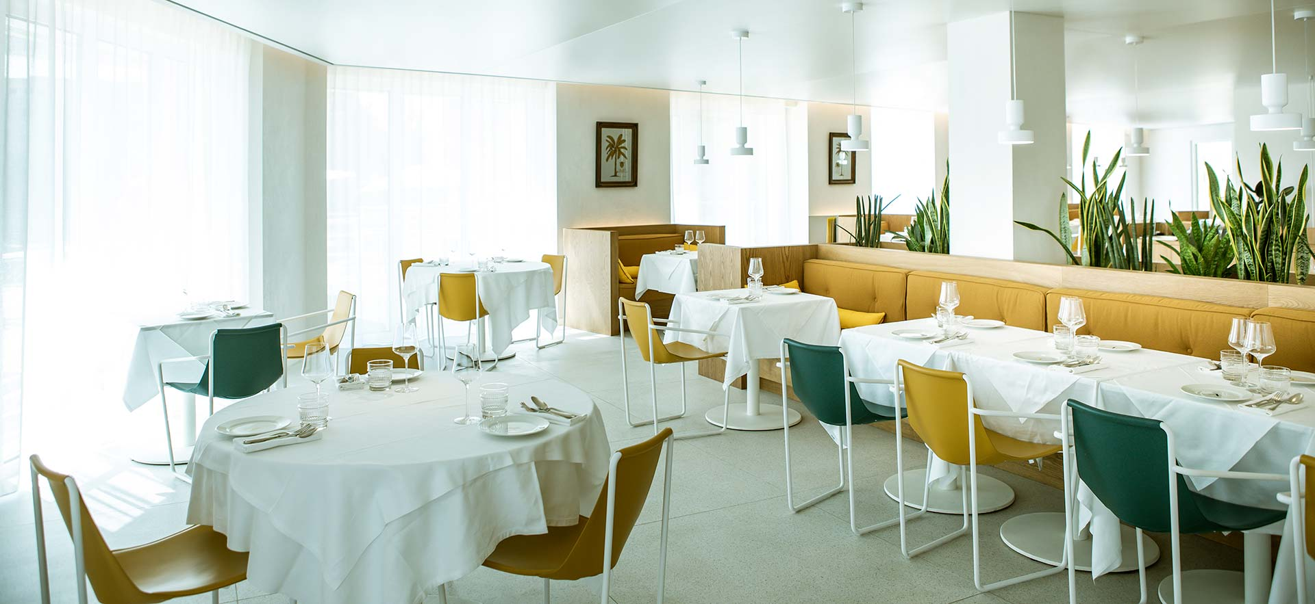 Restaurant en bas